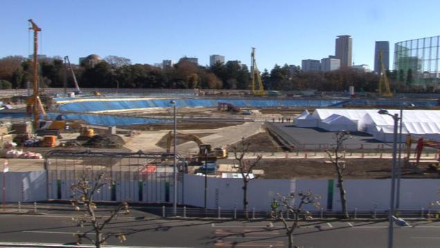 【1日取材体験Xスタディツアー】カメラを持って五輪再開発現場に行こう!第1弾「新国立競技場建設の影で」